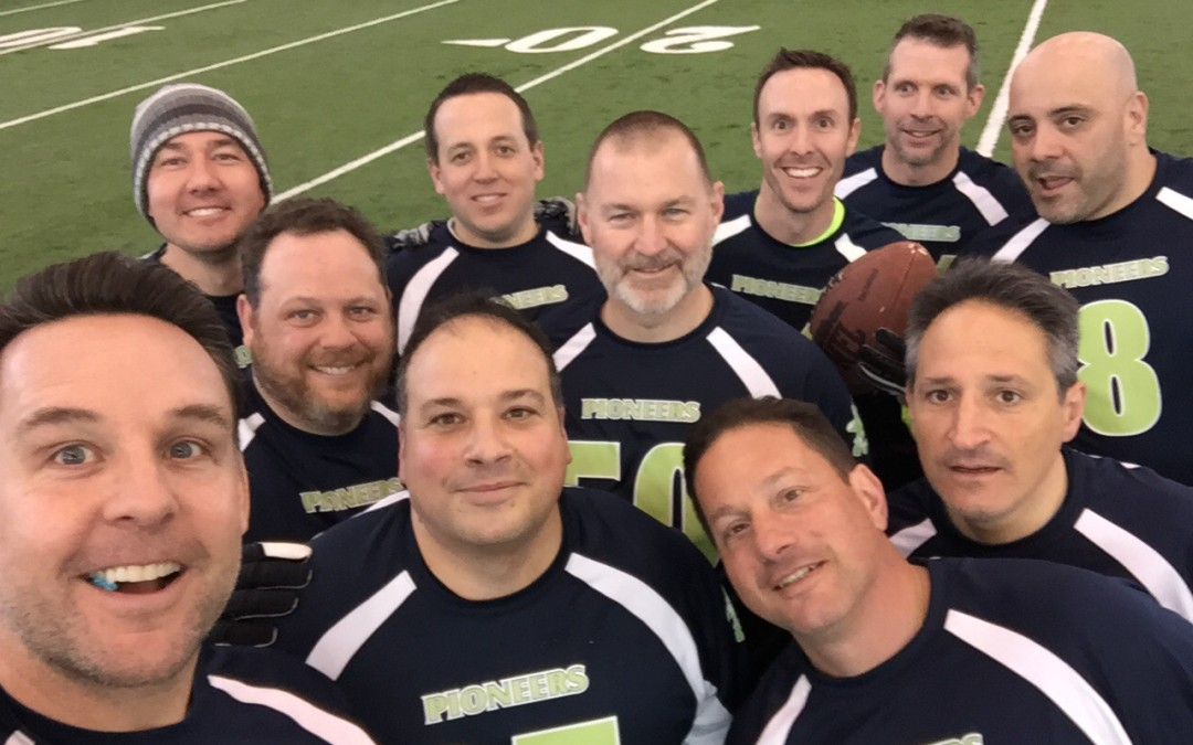 """PAL """"Gang Green"""" in Snow Bowl to Support NJ Special Olympics"""